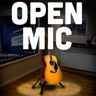 """In the Basement"" Open Mic Night"
